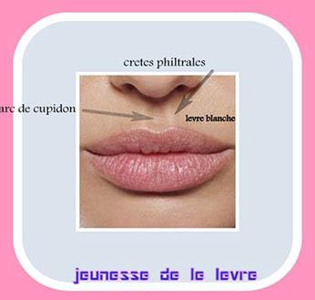 lèvres pulpeuses après
